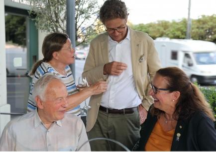 RID Urs Klemm, RT Hélène Klemm, PDG Markus Hauser, DG Bea Seiterle
